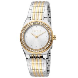 Bracelet Strap Silver Dial Stone Watch