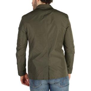 Collar Long Sleeve Button Blazer Jacket