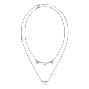 Rose Gold Rockers Necklace
