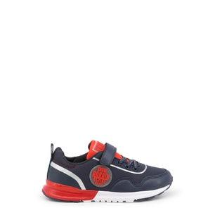 Round Toe Velcro Strap Kids Sneakers