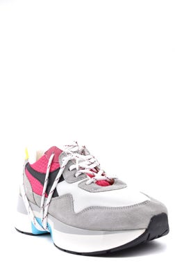 Multi Low Top Chunky Lace Up Sneakers