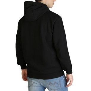 Black Long Sleeve Hoodie Sweatshirt