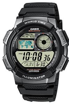 Grey Illuminator Quartz Resin Strap Watch