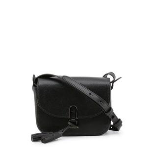 Black Tassel 1927 Franga Crossbody Bag