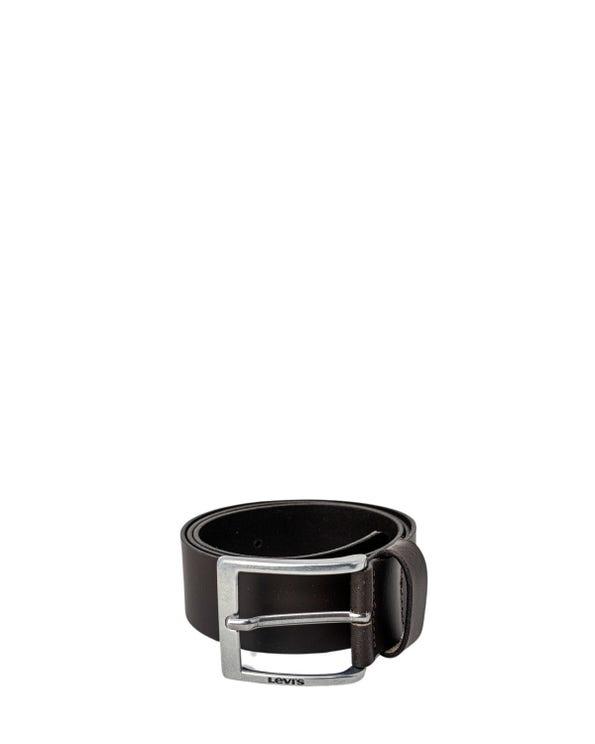 Steel Buckle Pin Leather Belt