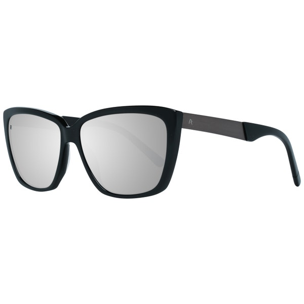 Black Frame Full Rim Acetate Sunglasses