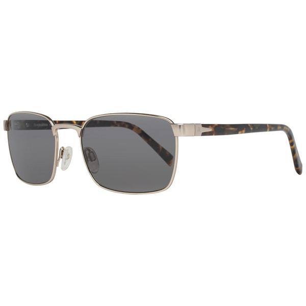 Metal Square Full Rim Printed Sunglasses