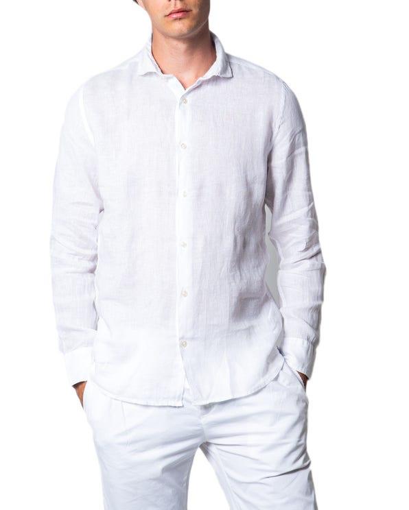 White Long Sleeve Button Shirt