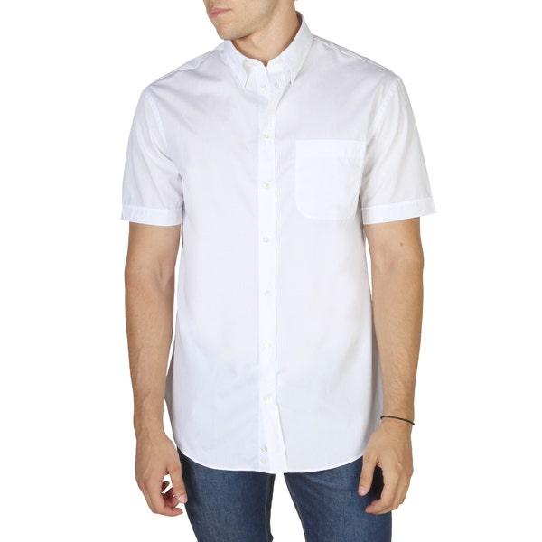 White Plain Short Sleeve Shirt
