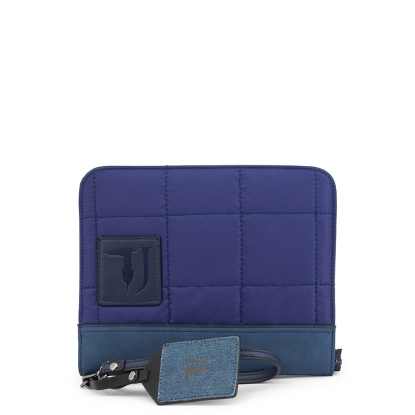 Blue Ticinese Small Zip Hand Bag
