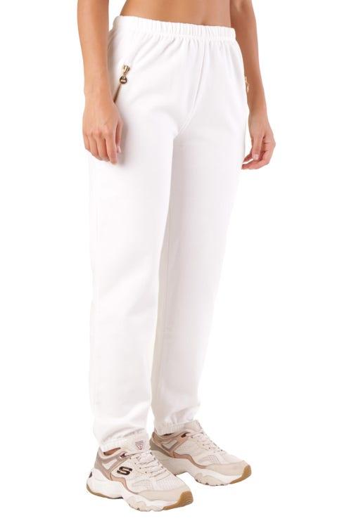 Elastic Waits Pocket Trouser