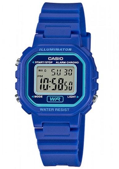 Blue Classic Quartz Digit Watch