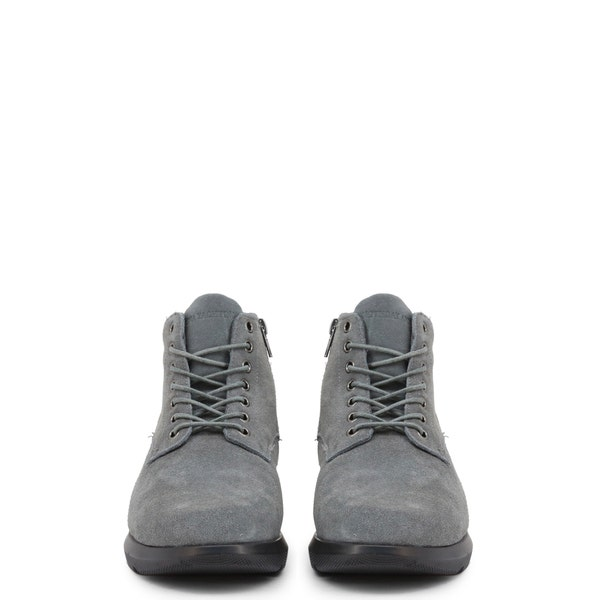 Grey Suede Rizzil Ankle Boots