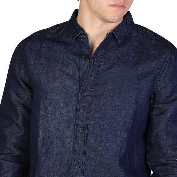 Denim Long Sleeve Button Shirt