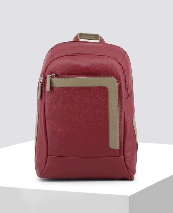 Red Vintage Look Backpack