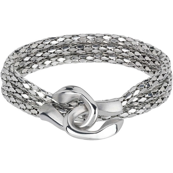 Mesh Stainless Steel Cobra Necklace