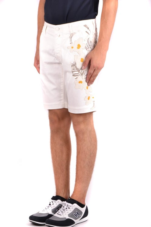 Floral Pattern Print Casual Short