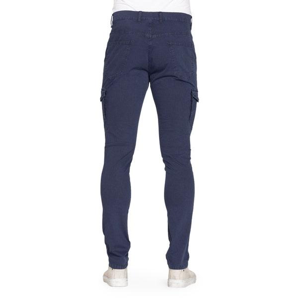 Blue Side Pocket Slim Fit Trouser