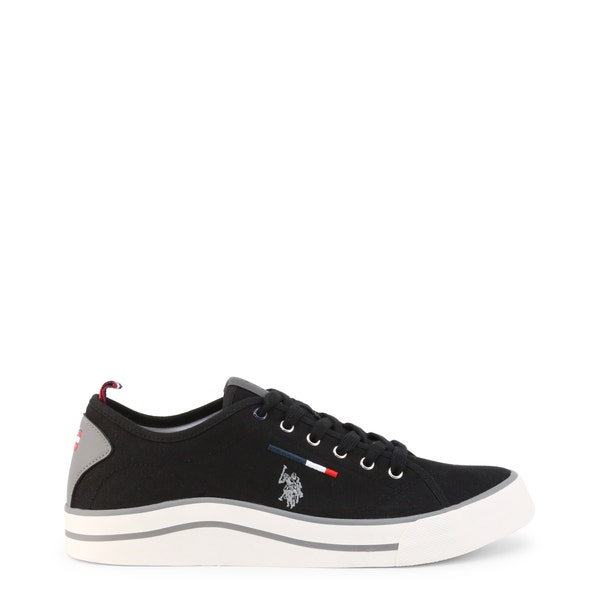 Black Wave Cy1 Lace Up Sneakers