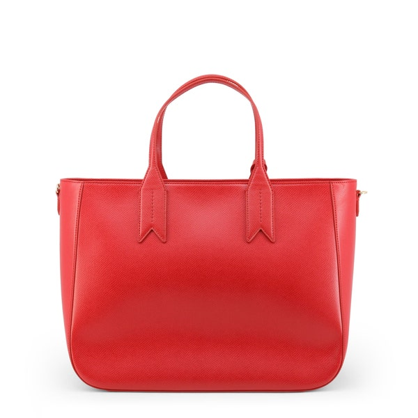 Two Handle Leather Shopping Bag