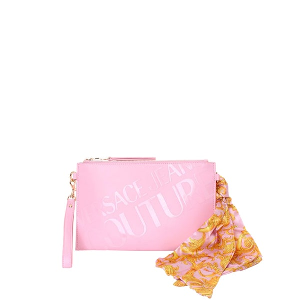 Pink Casual Pouch Bag