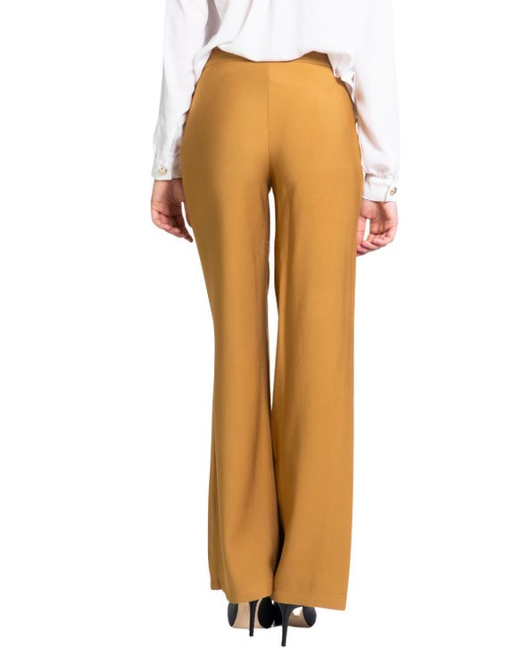 Classic Side Zip Flared Trouser