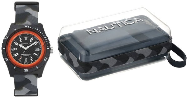 Black Surfside Resin Silicon Strap Watch