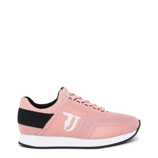 Almond Toe Mesh Lace Up Sneakers