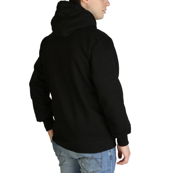 Black Golivier Long Sleeve Hoodie Sweatshirt