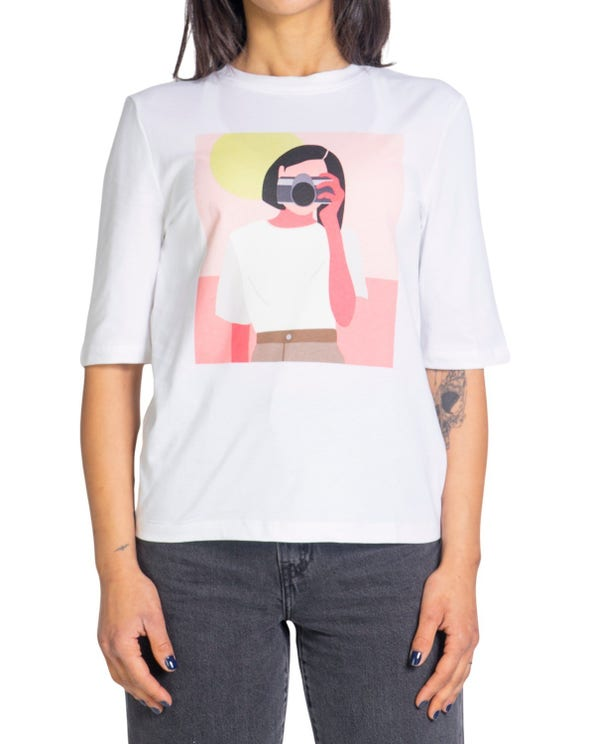 Short Sleeve Graphic Print T-shirt