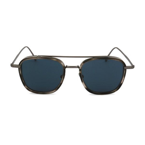 Metal Square Smoke Lens Sunglasses