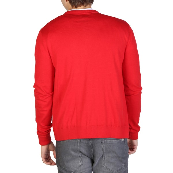 V- Neck Long Sleeve Button Sweater