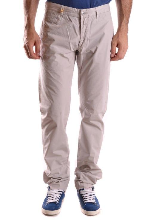 Grigio Classic Plain Regular Fit Trouser