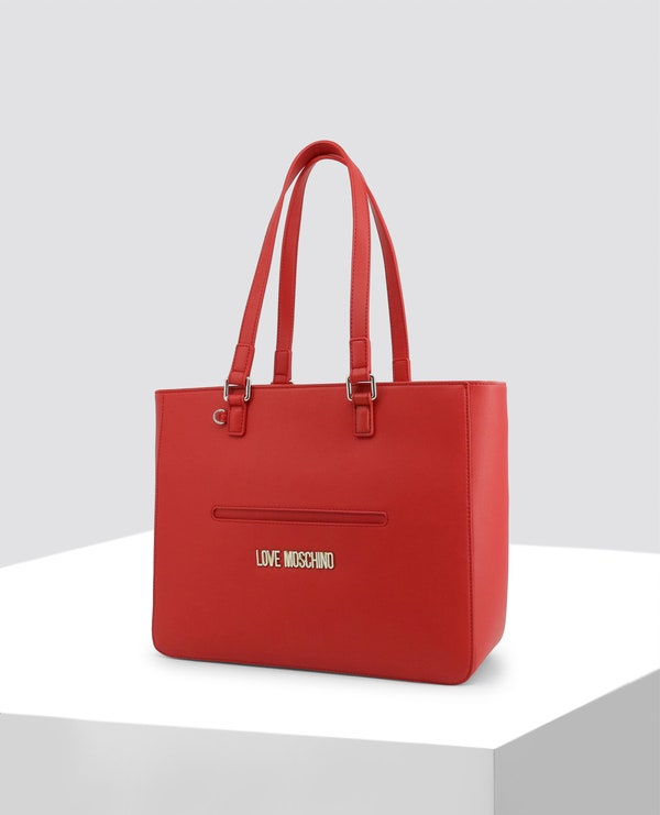 Red Summer Leather Bag