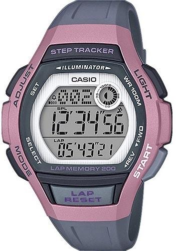 Sporty Two Tone Digital Resin Strap Watch