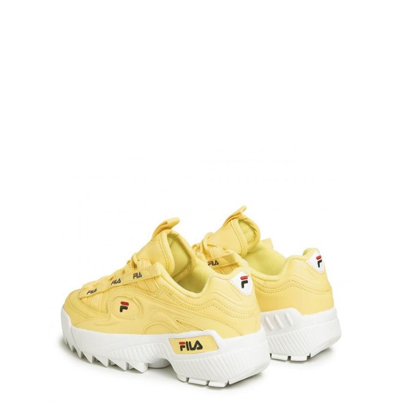 Yellow D-Formationr Chunky Sneakers
