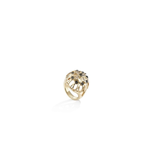 Fashion Rose Golden Plated Ring
