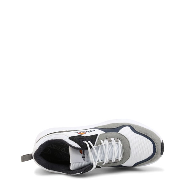 Mesh Round Toe Lace Up Sneakers
