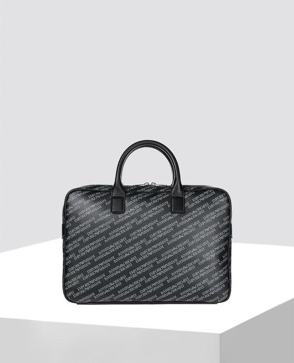 Black Monogra Leather Bag