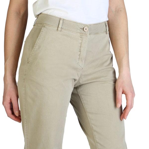 Button Zipper Slim Fit Trouser