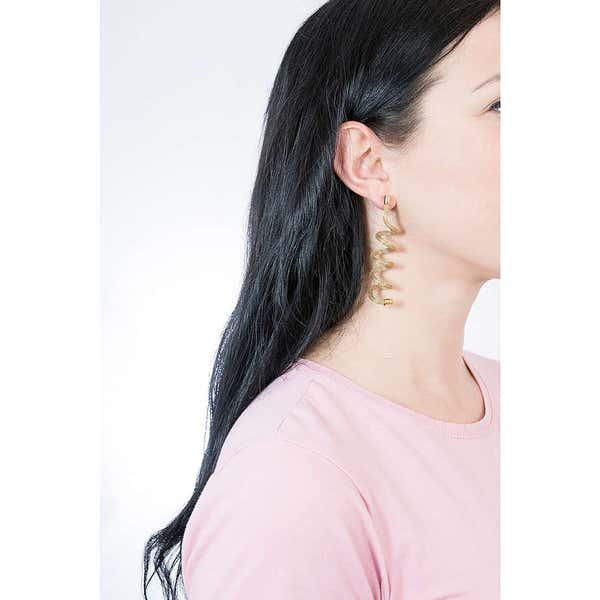 Spiral New Snake Earring
