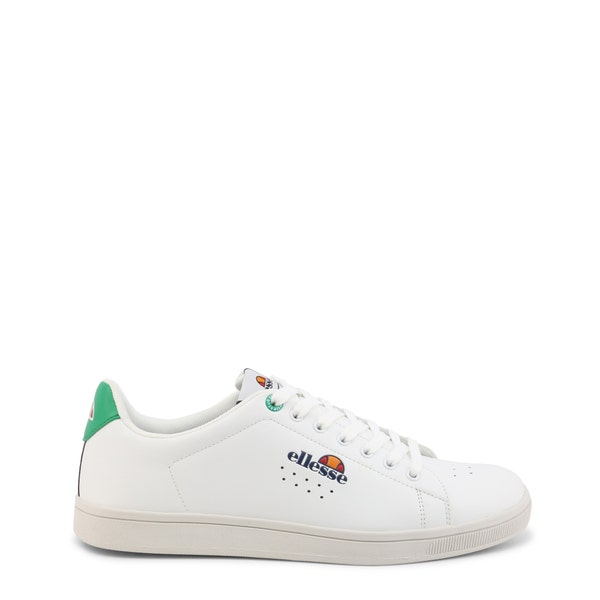 Leather Low Top Lace Up Sneakers