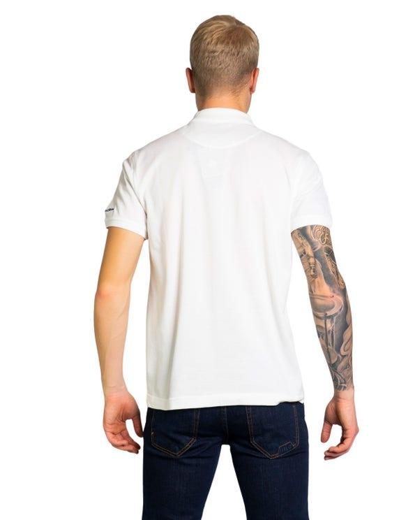 Short Sleeve Collar Button Polo Shirt