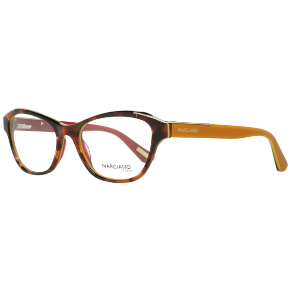 Brown Marble Print Wayfarer Eyeglass