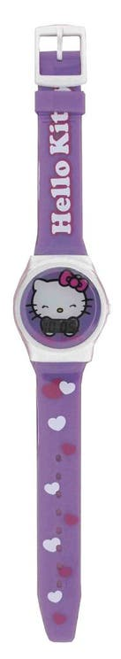 Violet Graphic Dial Logo Kids Watch