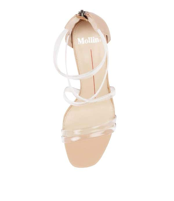 Dailor-Mo Leather Zip Sandals