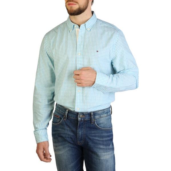 Checkered Long Sleeve Button Shirt