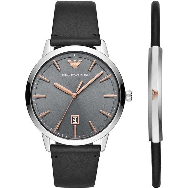 Dress Retro Black Leather Watch