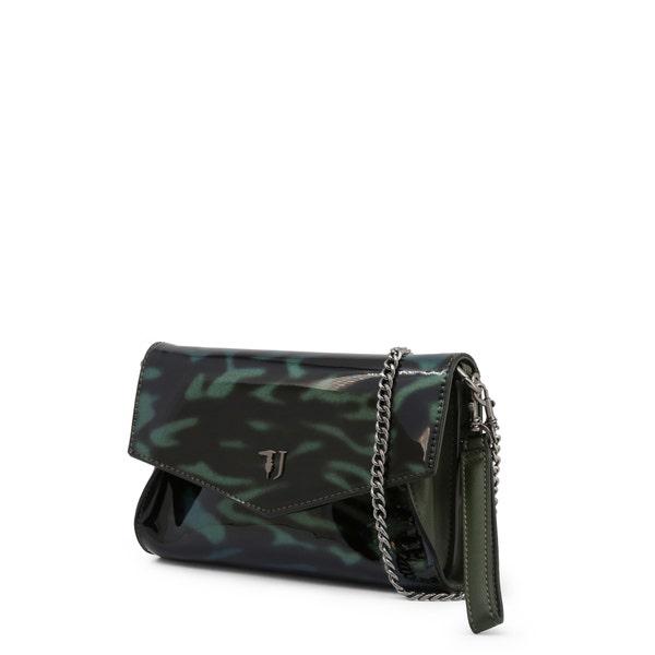 Green Glossy Paprica Clutch Bag