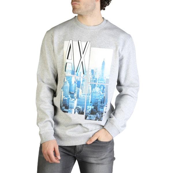 Long Sleeve Printed Pullover Sweatshirt